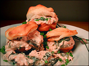 salmon biscuits