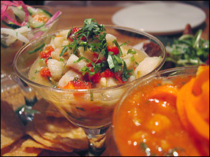 Bayless's Ceviche Trio