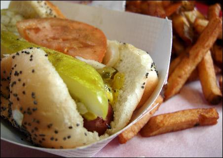 Fast Track Hot Dog